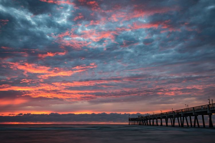 Something Magical is out there Sunset Sky Cloud - Sky Built Structure Bridge - Man Made Structure Architecture Scenics Water Outdoors Connection Nature No People Tranquil Scene Tranquility Beauty In Nature Sea Travel Destinations Day