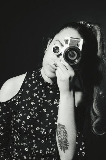 Ojo. Cámara Cam Girl Retrato Retrat Photography Photographer Redhead