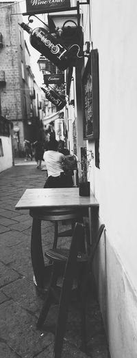 Street Streetphotography Pub Bar Coast Visitcampania Travelling World Photographer Travelphotography Photo Travelph Italy Blackandwhite Black And White Shadow Photography B&w darkness and light Light And Shadow Oldtown Sorrento Urban Scene Exterior Building Exterior Architecture