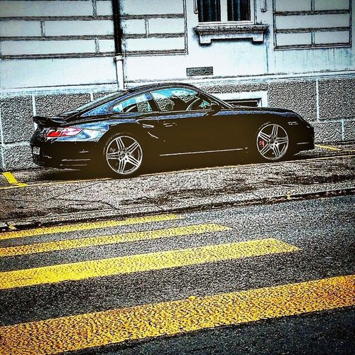Walk This Way Porsche Porsche 911 Zürich Streetphotography Switzerland Yellow Car