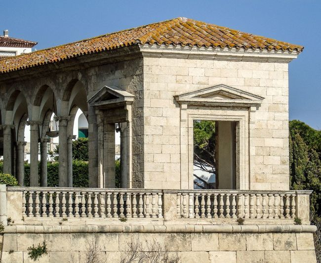 Costa Brava Costa Brava Spa Costa Brava, Coast Architecture Built Structure Building Exterior Day Outdoors History Architectural Column Architecture No People The Past Building Travel Destinations Nature Low Angle View Old Plant Travel Arch Wall Sunlight Sky