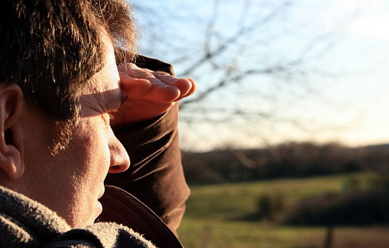 on the outlook Outlook Adult Close-up Focus On Foreground Headshot Human Body Part Leisure Activity Lifestyles Looking Men Mid Adult Nature On The Outlook One Man Only One Person Only Men Outdoors People Real People Rear View Search Searching Sunlight Tree Warm Clothing