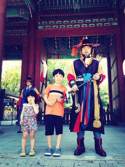 Kids Seoul, Korea Deoksugung