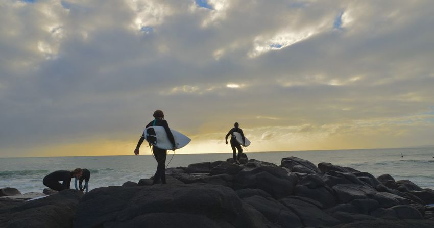 The Great Outdoors - 2015 EyeEm Awards Raglan Surfing Surf Beach