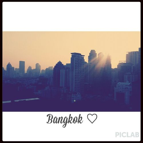 an interesting city Bangkok Thailand. Cityscapes Wanderlust Sunset Silhouettes