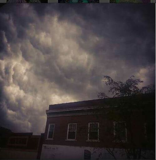 Clouds rolling in Strom Capegirardeau Clouds