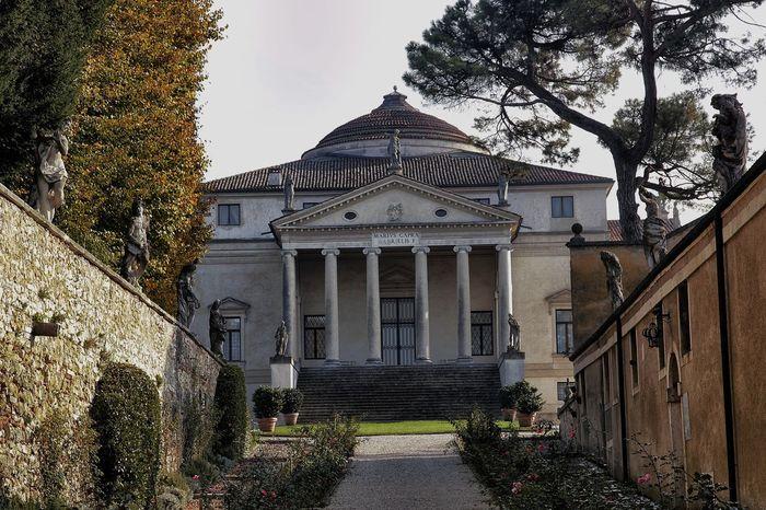 Architecture Italy Palladio Renaissance Vicenza View Villa La Angostura Villa Palladiana