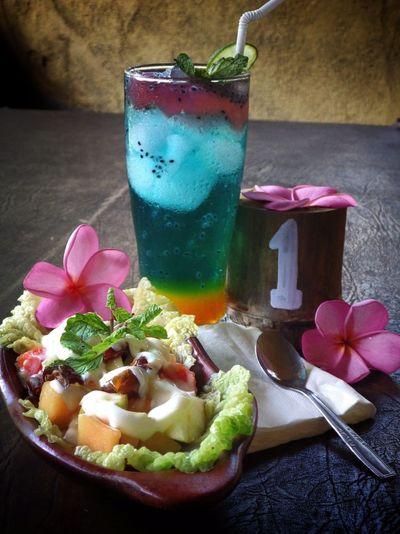 Food Porn Awards Fruits Fresh Ice Salad Basil Mint Kurma