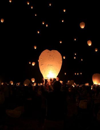 Lights Festival Celebration Celebration Festival Of Lights Illuminated Lantern Lights Festival Outdoors Paper Paper Lantern Paper Lanterns People Sky Traditional Festival
