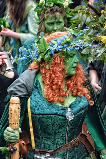 Jack In The Green Festival Jack In The Green May Day 2017 Hastings Pagan Traditional Festival Green Color One Person Close-up Real People Outdoors Day Adult Adults Only People East Sussex Pagan Festival Multi Colored Face Paint Cultures Celebration Performance Live For The Story Tradition Arts Culture And Entertainment