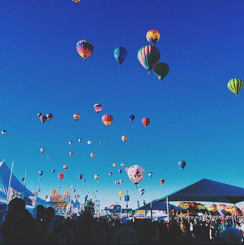 Balloon Ballooning Festival Hot Air Balloon EyeEmNewHere Albuquerque Albuquerque New Mexico New Mexico VSCO Vscogood Vscocam