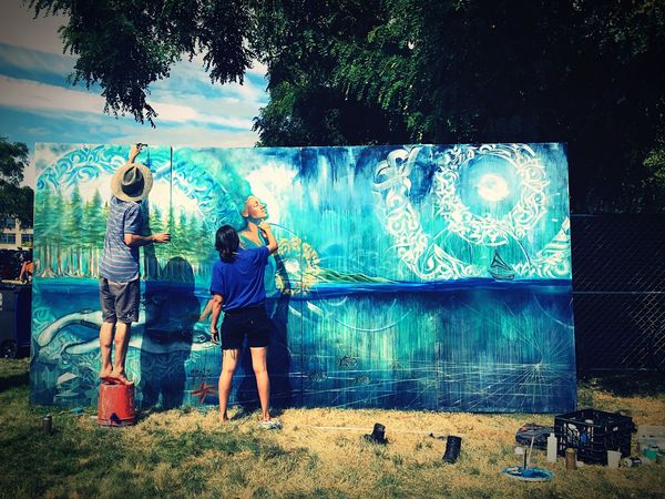 Check This Out ArtWork Painting Artist Hemp Fest Seattle Pnwlife
