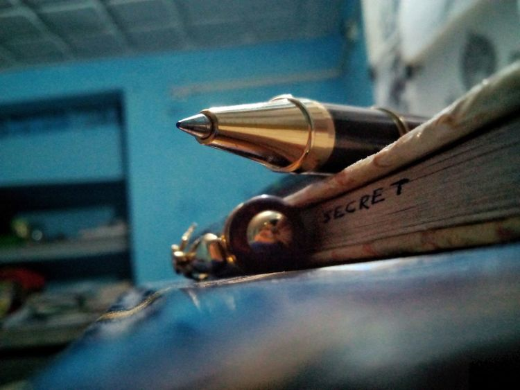 Fountain Pen Close-up No People Day Outdoors Sky EyeEmNewHere Diaryliving Diary Secret Diary Secret