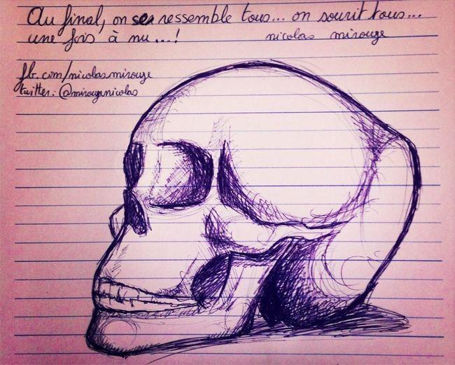 Skull By Nicolas Mirouze