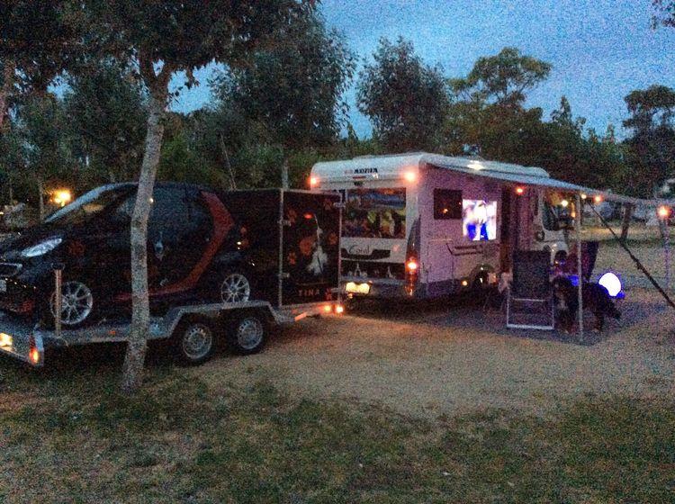 Camping Autocaravana Bobil Salou Motorhome