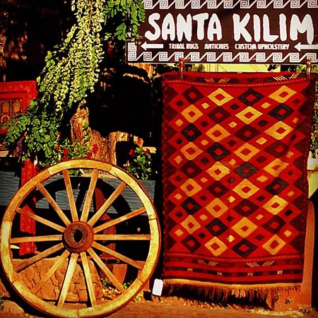 Sunny Day Carpet Kilim Canyon Road Late Afternoon Light Wheel Warm Colors Warm Light Ethnic Pattern Weaving