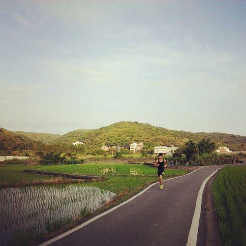 Morning Running Taoyuan Taiwan
