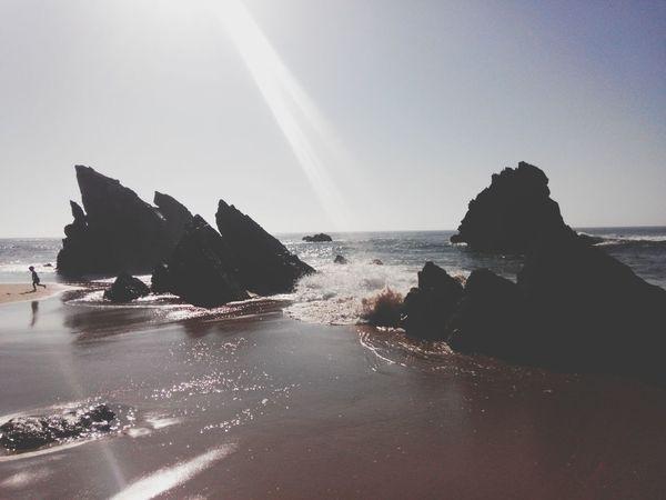 Adraga Praia Da Adraga Praia Beach Time Beachrocks BeachSilhouette Beachphotography Beachsand Beach Waves BeachSunset