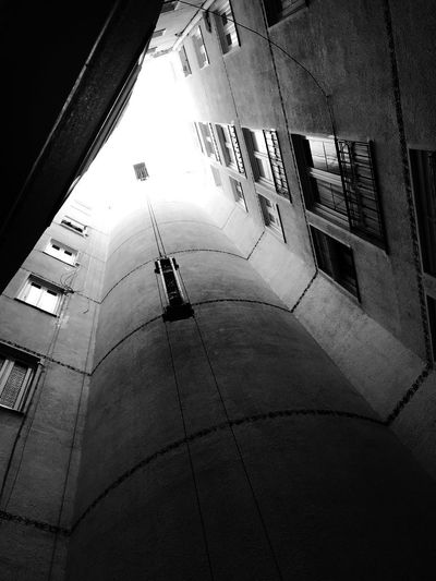 Real Estate Architecture Built Structure City Building Exterior Day Street High Angle View Silhouette