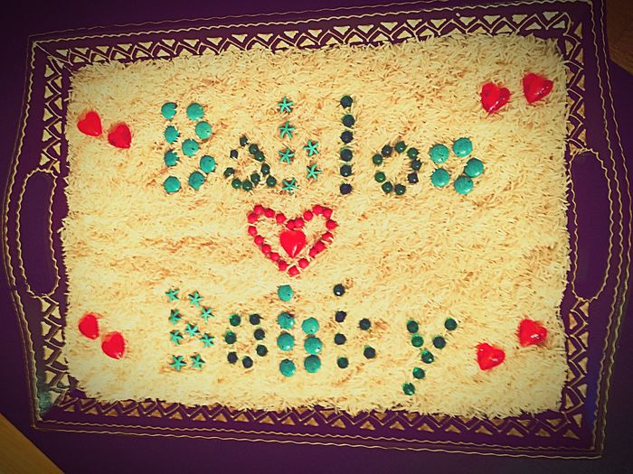Beads Names RiceArt Woodentray Artphoto Sweetlittlethingsphotography Indian Atthewedding First Eyeem Photo