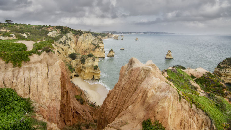 Algarve Beauty In Nature Entorno Natural La Ponta Da Piedade Mountain Nature Portugal