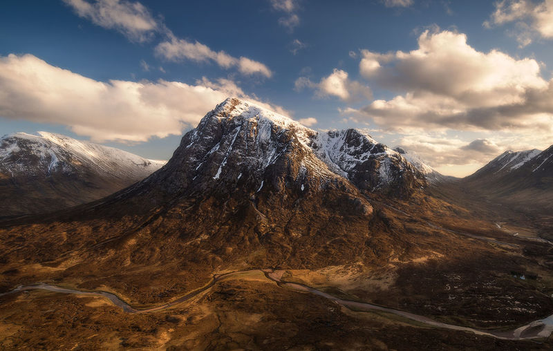 Buachaille etive mor, Glencoe Landscape Nature Outdoors Snowcapped Mountain Mountain Range EyeEm Masterclass Scotland 💕 The Great Outdoors - 2017 EyeEm Awards Landscape_Collection EyeEm Best Edits Sunsetporn Scotland Mountain_collection Sunset_captures Glencoe