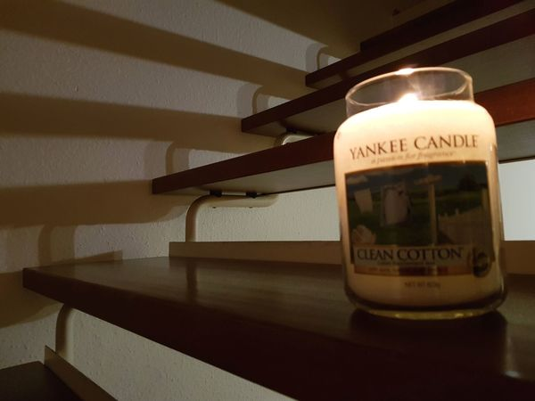 light and shadow Yankee Candle Samsungphotography Samsung Note 8 Rheinland-Pfalz  Ideas Light And Shadow Steps Candlelight The Photographer Shadow Shadows & Lights Text Communication Indoors  No People Close-up Drink Day Illuminated