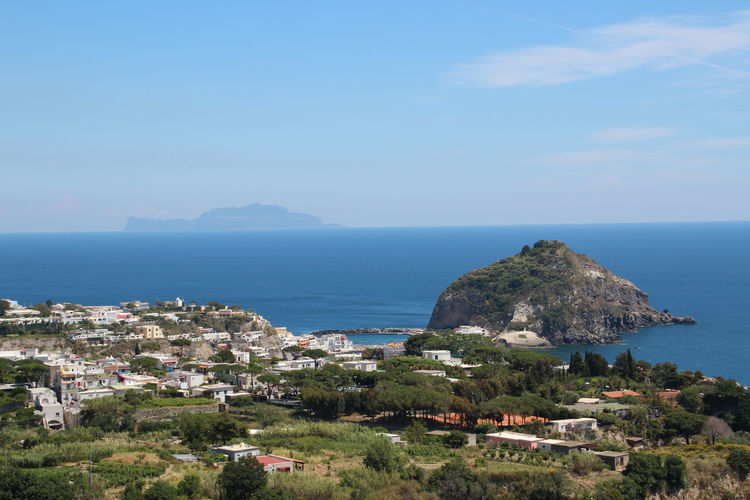 View of Sant'Angelo on Ischia Harbor Italia Landscape_Collection The Week On EyeEm Beach Beauty In Nature Blue Cliff Day Ischia Italy Landscape Landscape_photography Nature No People Outdoors Rock - Object Sant'angelo Scenery Scenics Sea Tourism Travel Destinations Water Waterfront