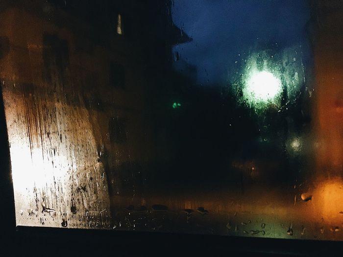 Cars Foggy Italy Sicily EyeEmBestPics Water No People Nature Wet Rain Sky Night Beauty In Nature Full Frame Backgrounds Scenics - Nature Reflection Window Tranquility Transparent Rainy Season