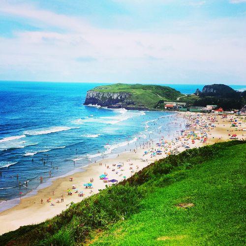 Praia Mar Natureza🍁 Verão