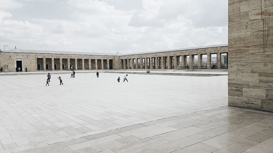 Anıtkabir Anitkabir Anitkabir Museum Ice Rink Ice Hockey Winter Sport Beach Headwear Sky Architecture Built Structure Cloud - Sky