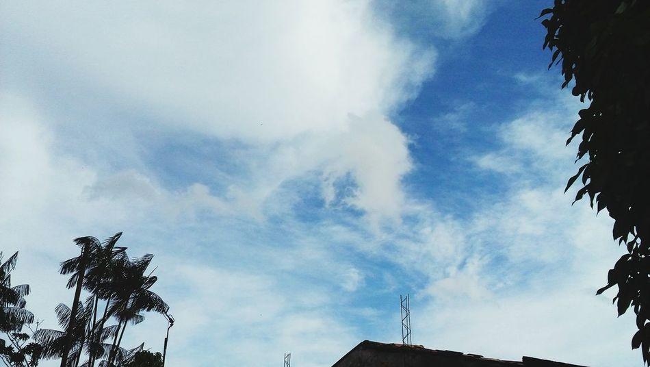 Ceu Azul Blue Sky Morning Blue Sky Belezanatural Nature Good Morning The Essence Of Summer