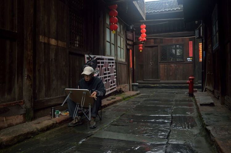 Painting Street Photography Old Town Travel Check This Out Enjoying Life Rainy Days Silence Don't Disturb