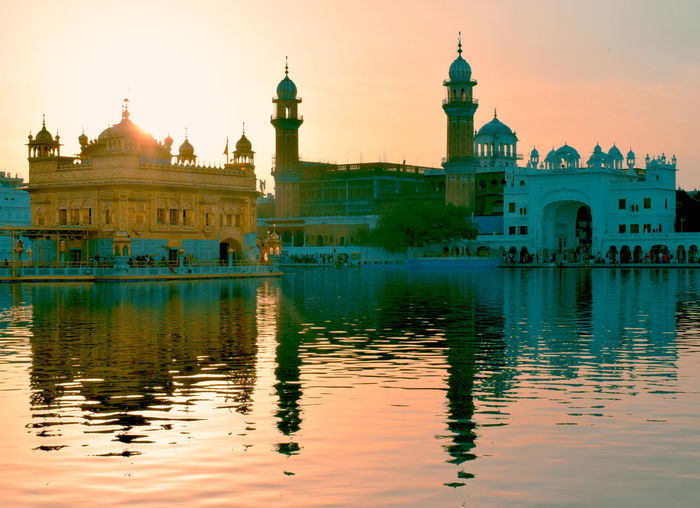 Reflection Outdoors Travel Destinations Standing Goldentemple Goldentempleamritsar Indianphotography Morningtime Sikh Temple Amritsar, INDIA The Architect - 2017 EyeEm Awards The Great Outdoors - 2017 EyeEm Awards The Street Photographer - 2017 EyeEm Awards