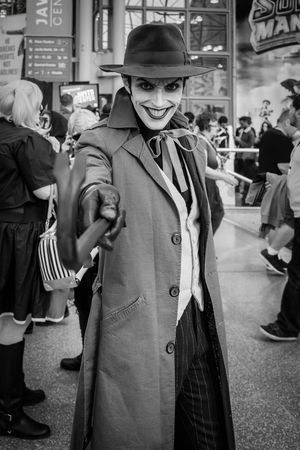 New York Comic Con | 2015 Cosplay Cosplayer Cosplayers NYCC New York Comic Con NYCC2015 NYCC The Joker Harley's Joker Comic Con