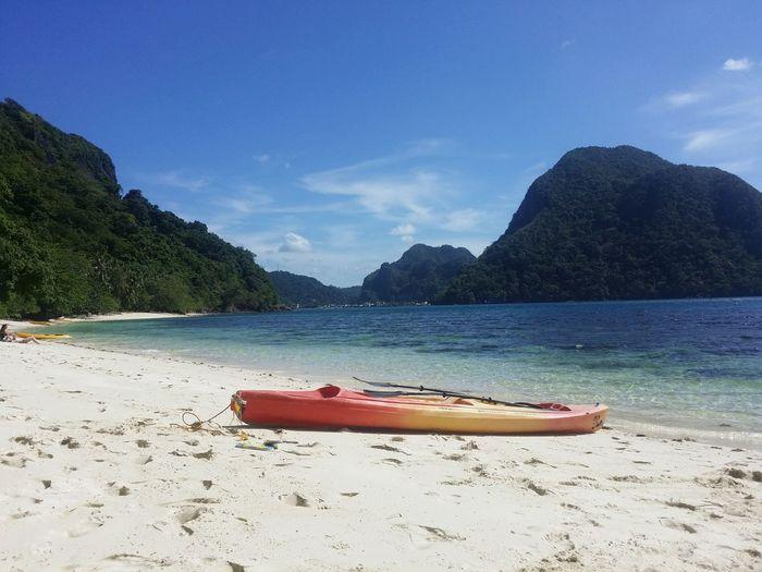 Kajak Sea Relaxing