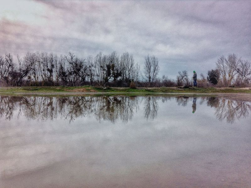It's supposed to rain.... Drought And Floods Weather Reflection Water_collection Mirror Image IPhoneography Mustang Mike Water Reflections Countryside Glamour For The Love Of Trees ~ Ca Drought