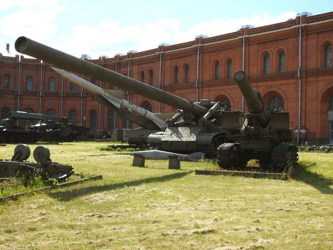 Big Guns  We Want Peace From Russia With Love❤ Museum Of Artillery Sankt-Petersburg Sunnyday☀️ Summer ☀ The Essence Of Summer