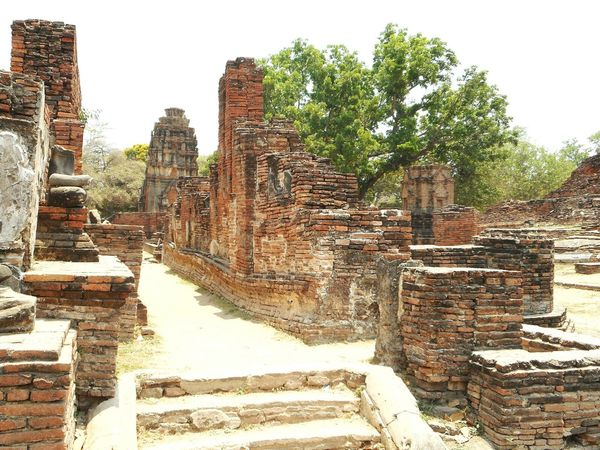 Old Ruin History Ancient Archaeology Ancient Civilization Travel Destinations Religion Ancient History Architecture Ayyuthaya Spirituality Buda Ayutthaya Ayutthaya Historic Park Pagoda Buddhist Temple Budismo Travel Photography Thai Built Structure Buddhist Buddha Tailandia Sculpture Steps