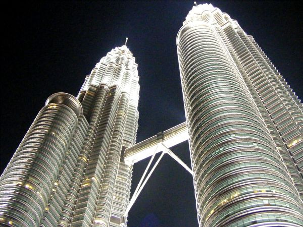 The EyeEm Facebook Cover Challenge Twins Tower Kuala Lumpur Malaysia  Evening Buildings Cityview