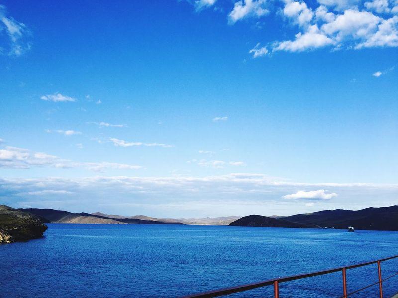 Olhonaruasp Lake Baikal Autumn Colors Water