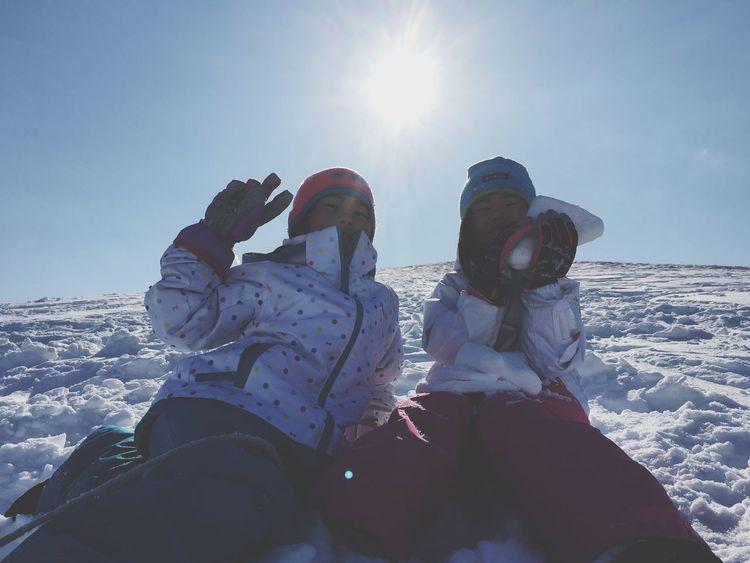 モエレ沼公園 Snow ❄ 雪遊び。早く春よ来い…