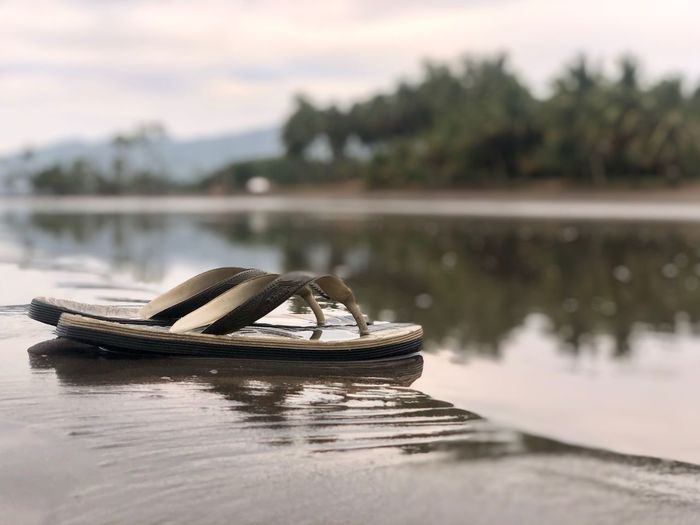 Slippers Water