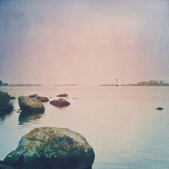 Sea and stones Sea Solitude EyeEm Best Shots Water Reflections