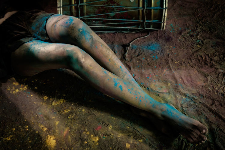 Legs of colors
