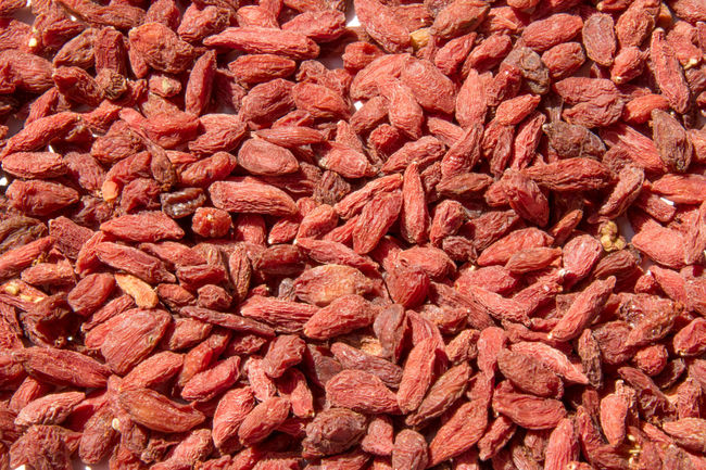 Goji Berry Abundance Backgrounds Day Dried Fruit Food Food And Drink Freshness Full Frame Goji Gojiberries Indoors  Large Group Of Objects No People Red