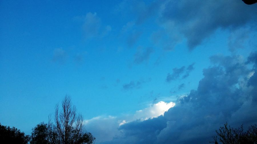 The Sky Is Always Beautiful Many Blue Colours Like Ocean The Clouds 💙