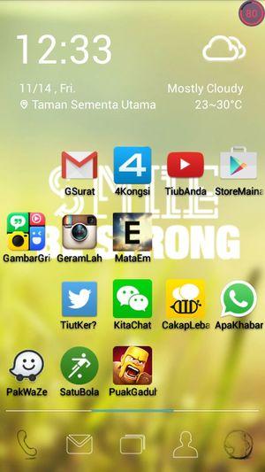 Sedapkan? Bila semua dalam bahasa Melayu. ?? Bahasa Melayu Tukar Rename Apps Relaxing