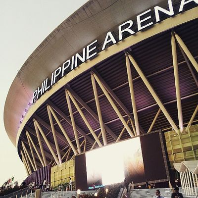 Good to be back here ♡ PhilippineArena Inc POTD Inc100