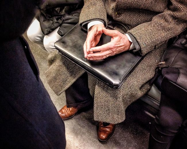 Patience. NEM Street Hands Commuting Subway People